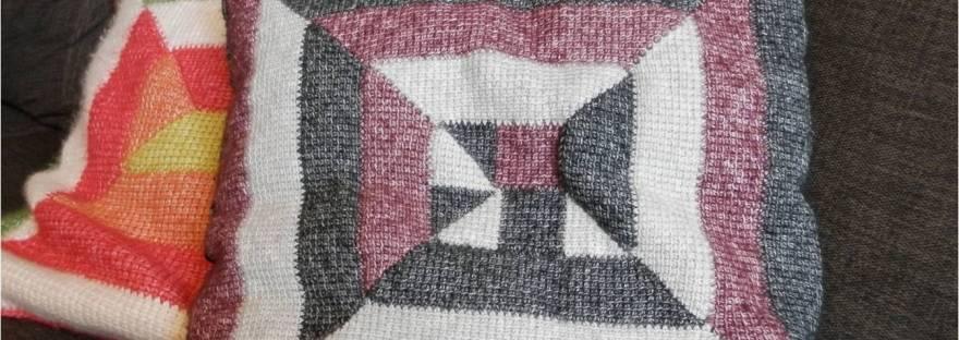 Tunisian Crochet Ten Stitch Afgan Video Tutorial Its All In A