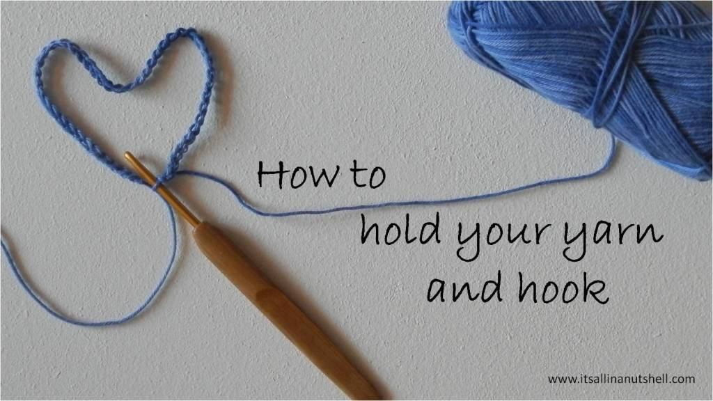 how to hold your hook