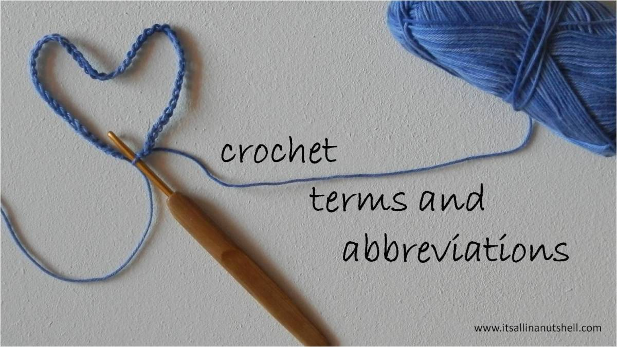 Us Uk Crochet Abbreviations
