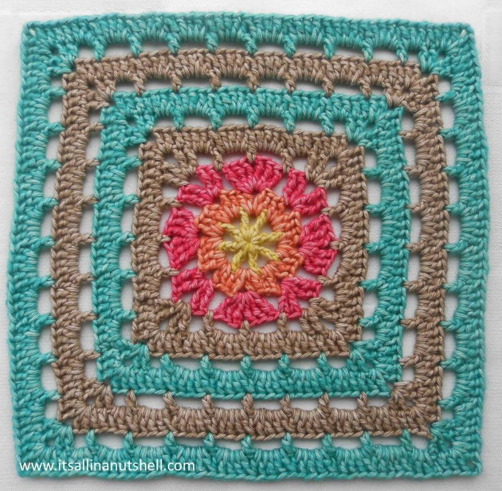 Vincent 12 inich afghan square