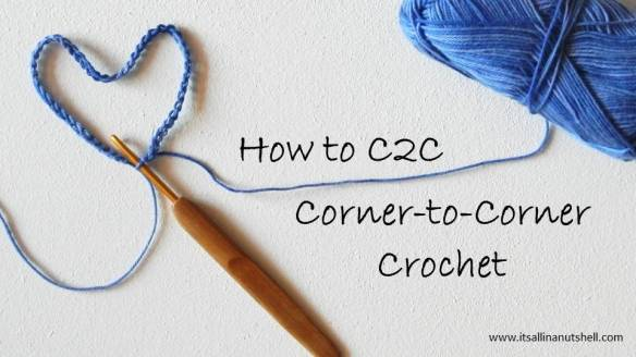 how to c2c corner-to-corner crochet