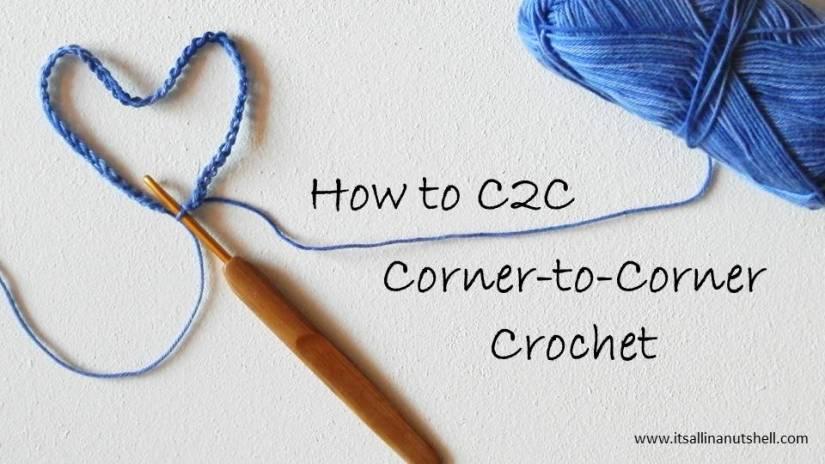 how to c2c corner-to-corner crochet