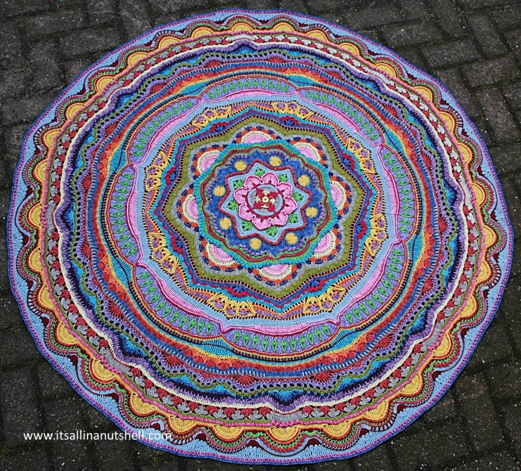 Mandala Madness completed - 2