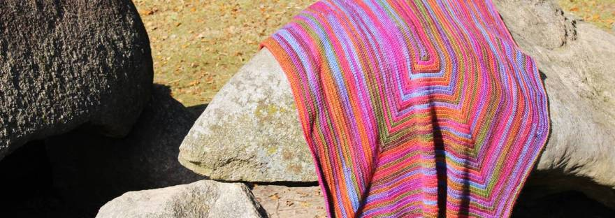 Merry Go Round Free Crochet Blanket Pattern Its All In A Nutshell