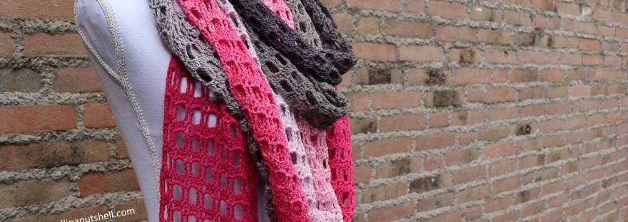 Endless Love Skinny Scarf Free Crochet Pattern Its All In A