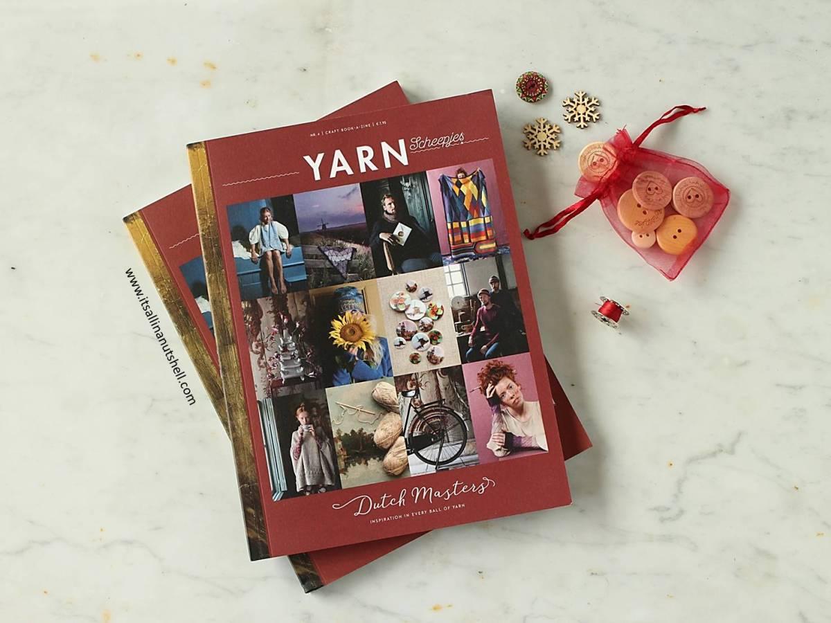 Artist's Dress Guard in YARN Dutch Masters Book-a-zine