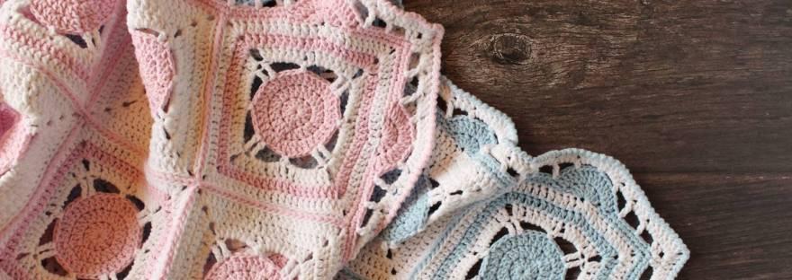 Sweet Dreams Baby Blanket Free Crochet Pattern Its All In A