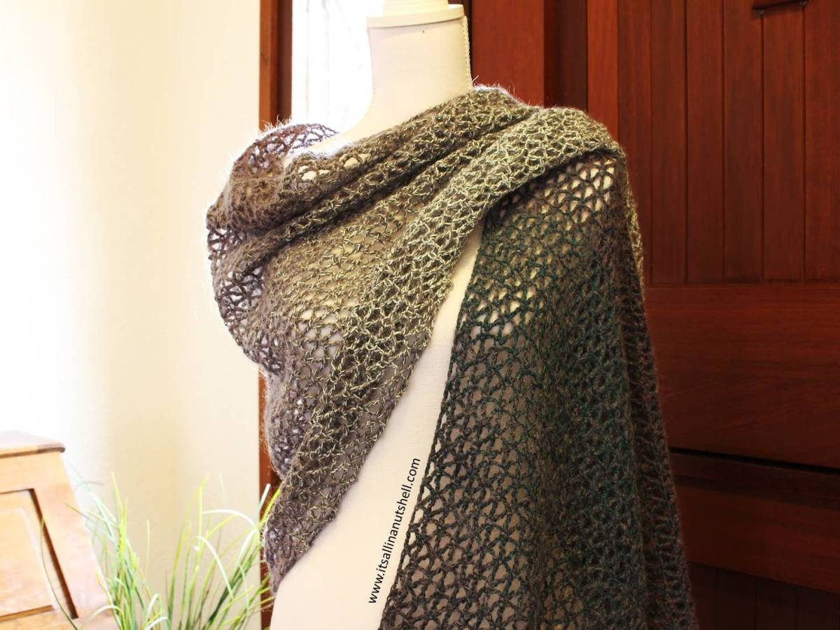 Diamond Shawl - Free Crochet Pattern