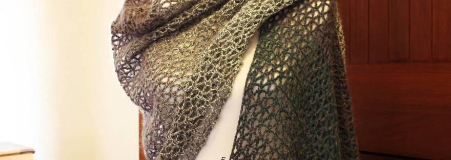 Diamond Shawl Free Crochet Pattern Its All In A Nutshell