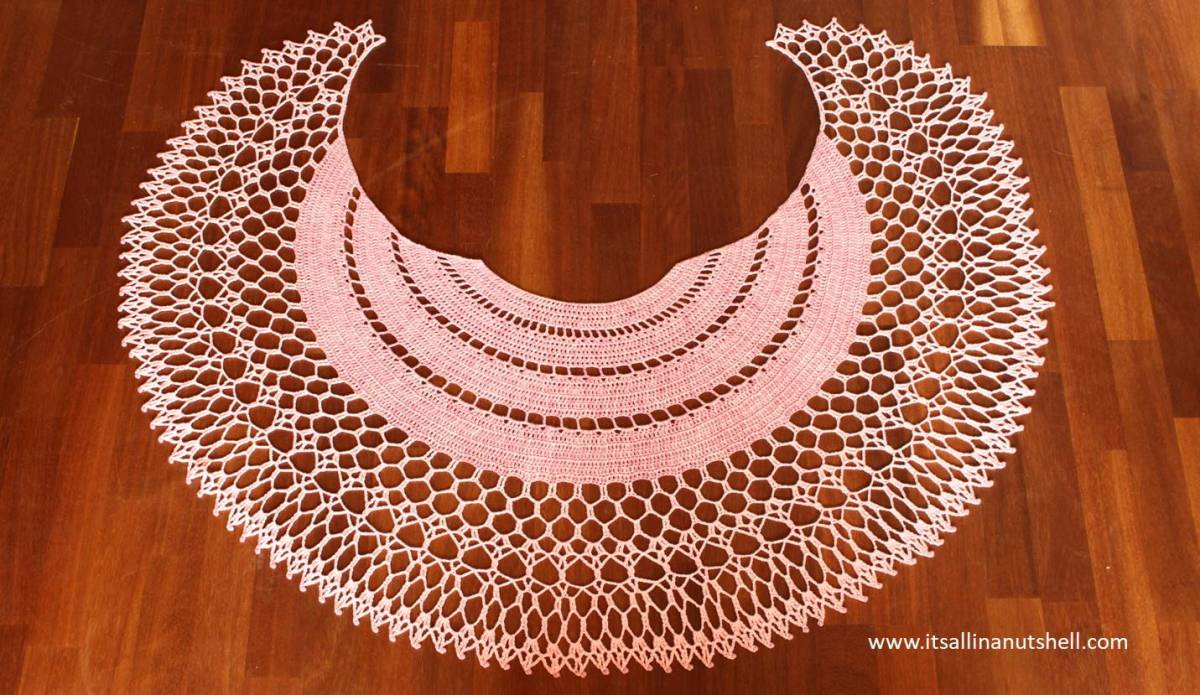 Over the Moon Shawl - Crochet Pattern