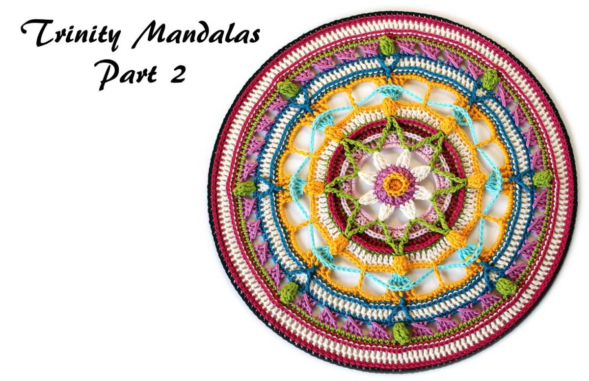 Trinity Mandalas Part 2 - Free Crochet Pattern