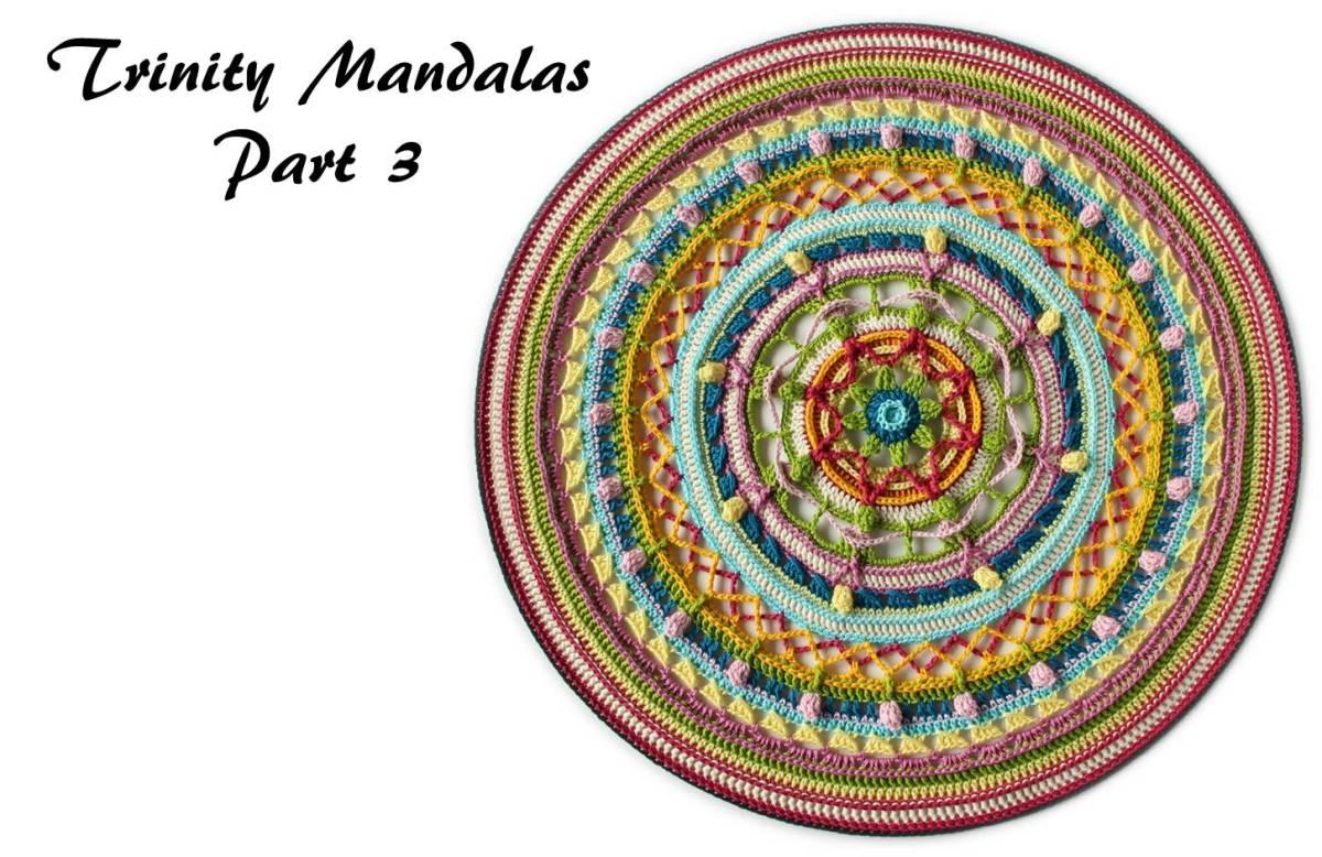 Trinity Mandalas Part 3 - Free Crochet Pattern