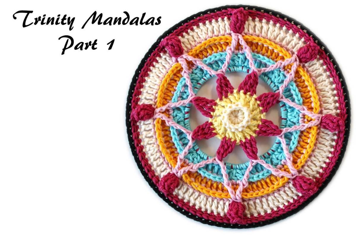 Trinity Mandalas Part 1 - Free Crochet Pattern