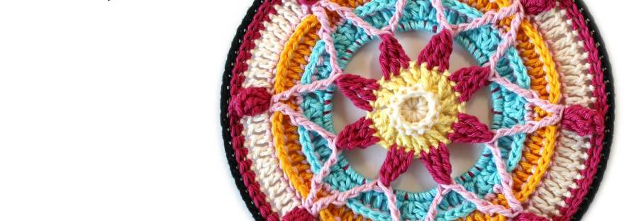 Trinity Mandalas Part 1 – Free Crochet Pattern – It's all in a