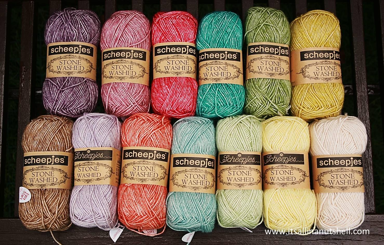Scheepjes-Stone Washed color 818 Lilac Quartz
